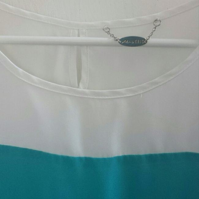 Other T Shirt White/blue