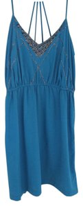 Ecote short dress Blue on Tradesy
