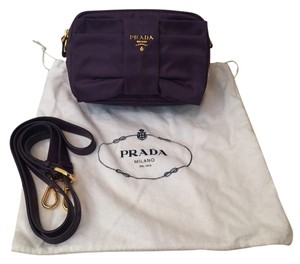 Prada Purple Clutch