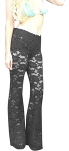 Beach Bunny Beach Bunny Black Lace Pants Sz Med
