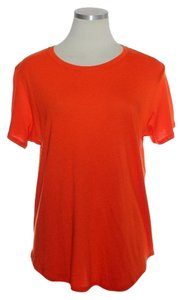 Vince Soft T Shirt Orange