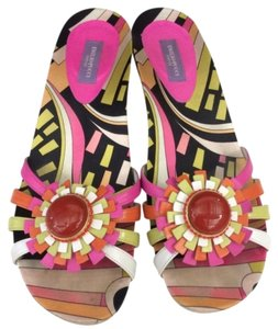 Emilio Pucci Colorful Summer Variety Sandals