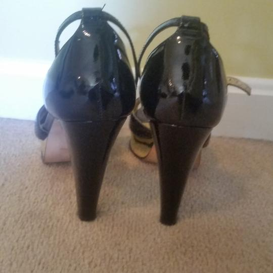 Laundry by Shelli Segal Black Patent Pumps