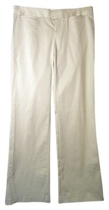 Laundry by Shelli Segal Trouser Pants white pin stripe