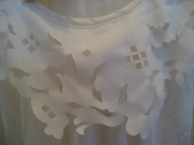 Ted Baker Modal New With Tags Feminine T Shirt white
