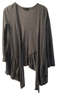 BCBGMAXAZRIA Bcbg Edgy Winter Fall Ruffle Cardigan
