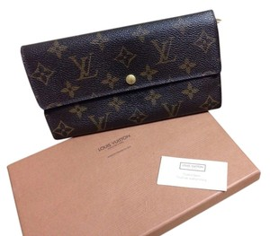Louis Vuitton LV Monogram Wallet/Clutch