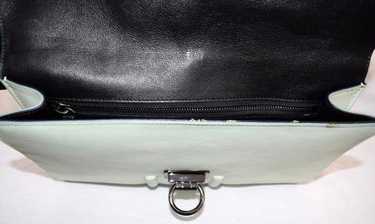 Reece Hudson Exclusive Retired Leather Gunmetal Hardware Shoulder Bag