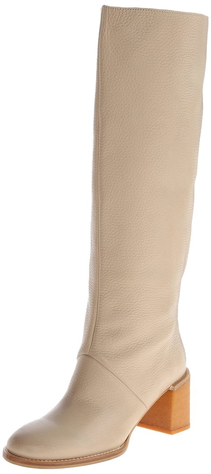 See Chloé by Chloé See Beige Leather Calfskin Boots/Booties f2379c