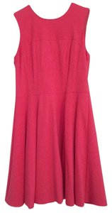 Nanette Lepore short dress tulip Pink Shift Size 8 on Tradesy