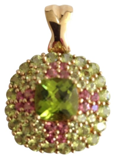 Preload https://item1.tradesy.com/images/gold-peridot-pink-14k-and-tourmaline-pendant-necklace-4239340-0-0.jpg?width=440&height=440