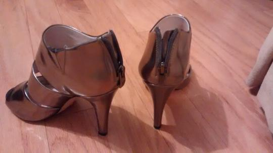 Vince Camuto Metallic Silver Sandals