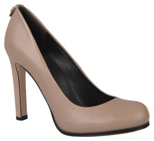 Gucci Leather Pink Beige Pumps