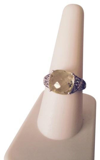 Preload https://item2.tradesy.com/images/yellowsilver-lemon-citrine-and-diamonds-in-sterling-size-9-ring-4240111-0-0.jpg?width=440&height=440