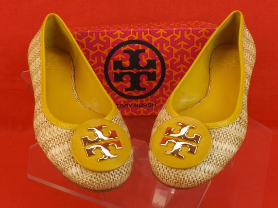 Tory Burch Soleil Yellow/Natural Flats