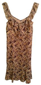 Ann Taylor LOFT Shell: 100% Polyester Dress