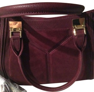 Steve Madden /shoulder Designer /shoulder Designer /shoulder Satchel in Burgandy