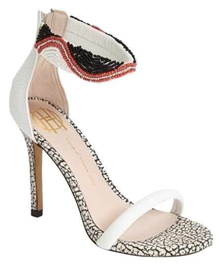 House of Harlow 1960 White Sandals