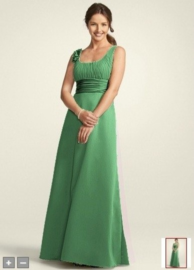 Preload https://item1.tradesy.com/images/david-s-bridal-green-satin-f14050-free-shipping-formal-bridesmaidmob-dress-size-10-m-42410-0-0.jpg?width=440&height=440