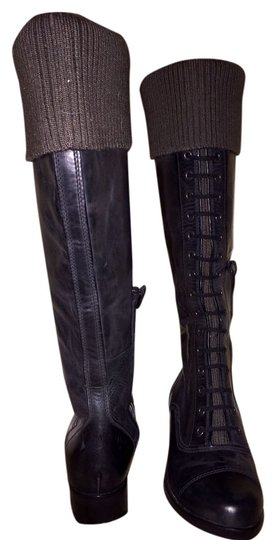 Preload https://item4.tradesy.com/images/cole-haan-brownblack-air-whitley-knit-cuff-leather-bootsbooties-size-us-6-regular-m-b-4241368-0-0.jpg?width=440&height=440