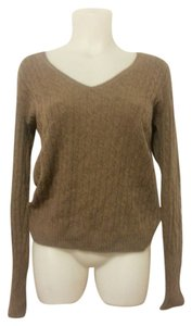J.Crew Pullover V-neck Cable Knit Sweater