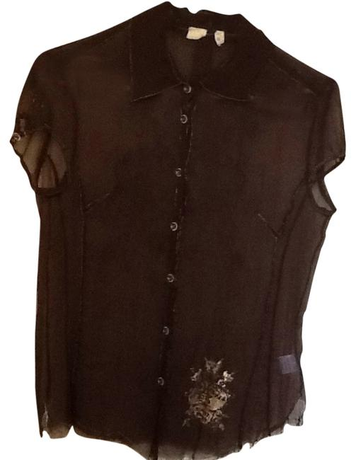 Other Silk For Love And Liberty Top Brown