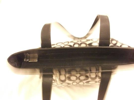 Other Korea Large And Shoulder Tote in black/white
