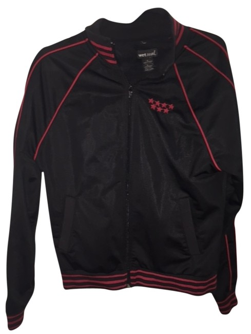 Preload https://item3.tradesy.com/images/wet-seal-blackred-spain-zip-jacket-activewear-size-12-l-4242262-0-0.jpg?width=400&height=650