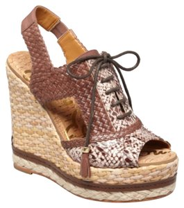 Sam Edelman Brown Wedges