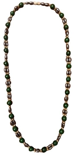 Preload https://item2.tradesy.com/images/other-silver-and-jade-beaded-necklace-4242451-0-8.jpg?width=440&height=440