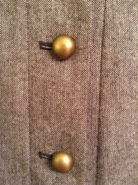 Apt. 9 Shell: 49% Polyester 24% Acrylic 17% Recycled Wool 10% Other Fibers Lining: Polyester Brown Blazer