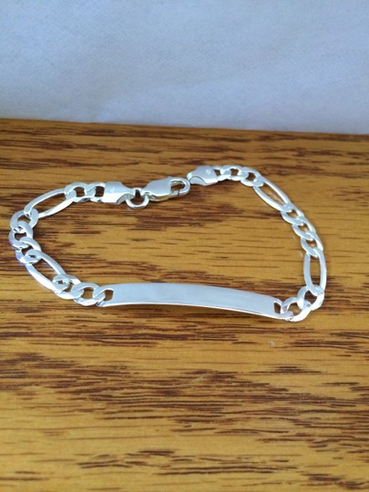 Other Sterling Silver ID Bracelet 8 inches