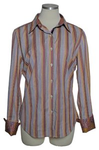 Robert Graham Striped Long Sleeve Button Down Shirt