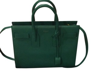Saint Laurent Satchel in Green