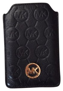 Michael Kors Michael Kors Quilted Leather Black iPhone 4 Case