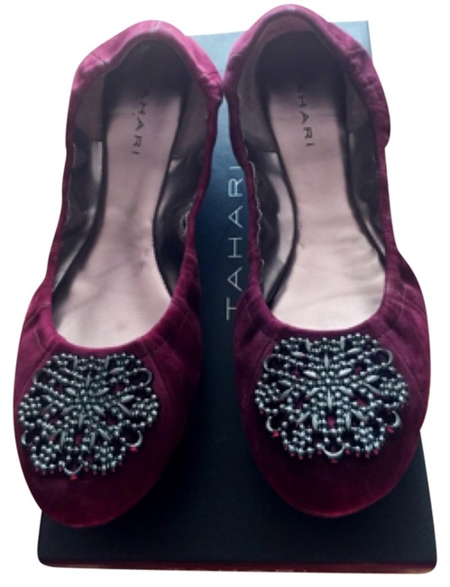 Item - Plum Wine Valerie Flats Size US 8.5 Regular (M, B)