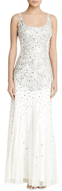 Adrianna Papell Gown Sleeveless Beaded Dress