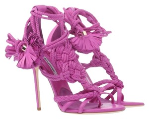 Brian Atwood Pink/Fuscia Sandals