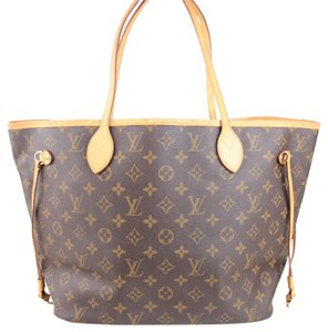 Louis Vuitton Vuitotn Neverfull Mm Tote in Monogram Canvas