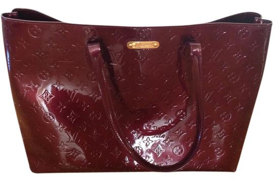 Louis Vuitton Tote in Deep Cranberry
