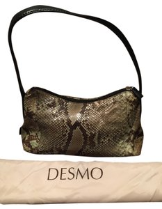Desmo Italian Leather Shoulder Bag