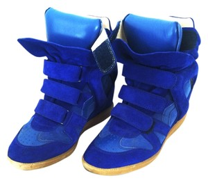 Isabel Marant Sneakers Sneakers Cobalt Blue Wedges