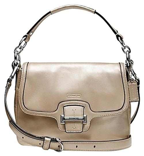 Preload https://item4.tradesy.com/images/coach-taylor-champagne-leather-cross-body-bag-4245658-0-2.jpg?width=440&height=440