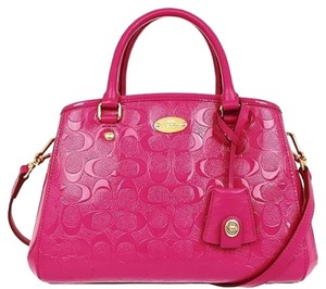 Coach Satchel in pink