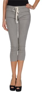 L'AGENCE Skinny Tie-up Lace-up Capri/Cropped Denim-Light Wash