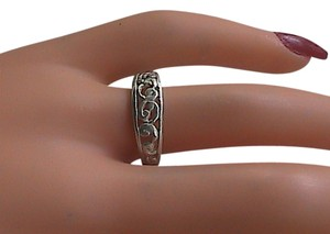 Sterling Silver Swirl Band Ring