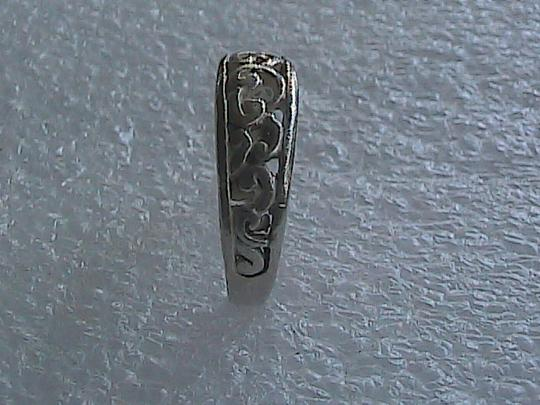 Other Sterling Silver Swirl Band Ring