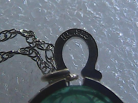 Other Sterling Silver Jade Necklace