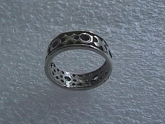 Other Sterling Silver XOXO Band Ring