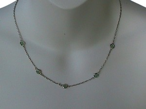 Other Sterling Silver Jade Nekclace